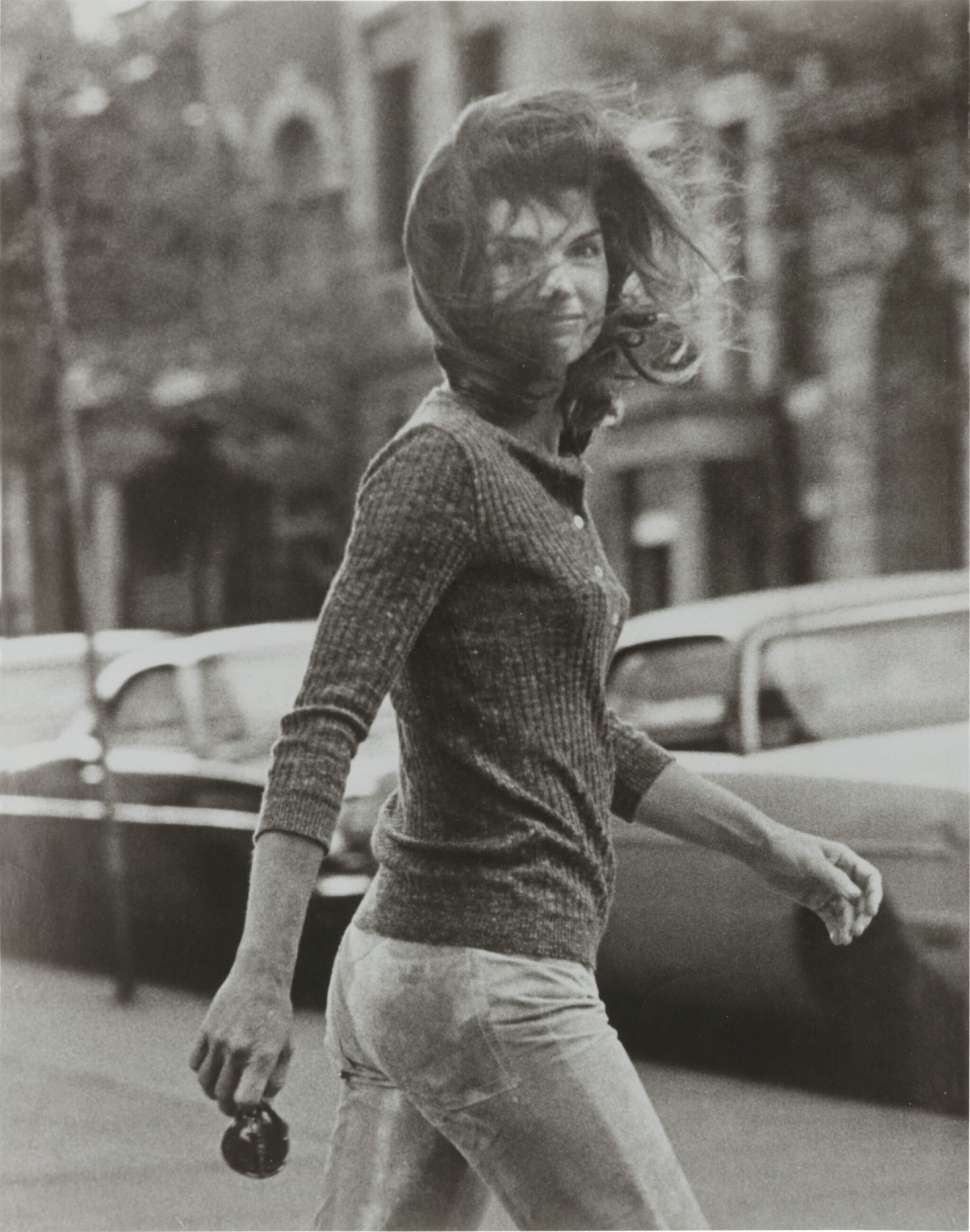View full screen - View 1 of Lot 36. RON GALELLA   'JACQUELINE' (WINDBLOWN JACKIE).