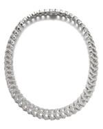 Cartier | Diamond necklace, 'C de Cartier Passion' | 卡地亞鑽石「C de Cartier Passion」項鏈