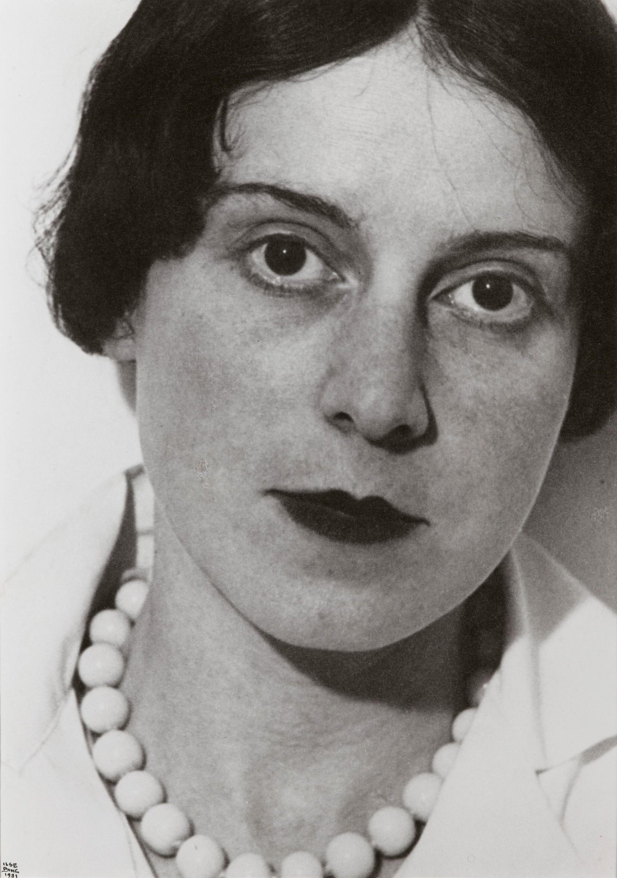 View full screen - View 1 of Lot 33. Ilse Bing | Autoportrait, Paris, 1931.