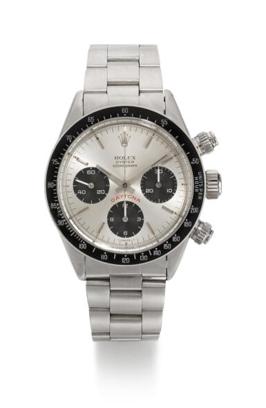 ROLEX |  DAYTONA BIG RED, REFERENCE 6263,  STAINLESS STEEL CHRONOGRAPH WRISTWATCH WITH BRACELET, CIRCA 1978