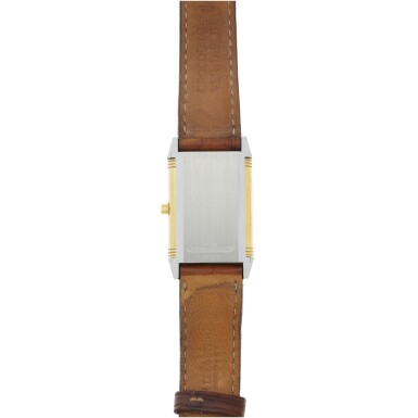 View 6. Thumbnail of Lot 244. REFERENCE 250.5.86 REVERSO CLASSIQUE A YELLOW GOLD AND STAINLESS STEEL REVERSIBLE WRISTWATCH, CIRCA 1995.
