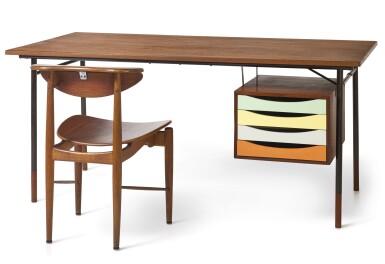 芬·祖爾 FINN JUHL | BO69型號桌子及BO62型號椅子 DESK, MODEL NO. BO69 AND CHAIR, MODEL NO. BO62