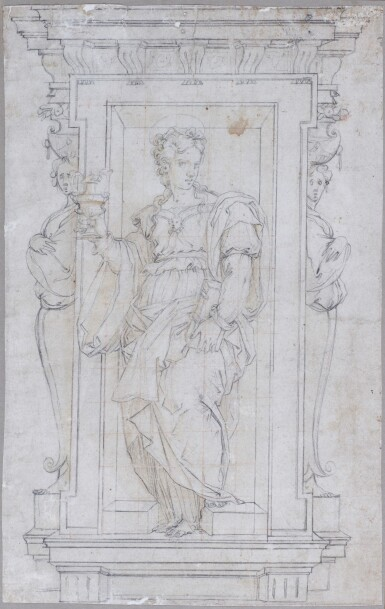 CIRCLE OF GIORGIO VASARI | Allegorical Figure of Charity