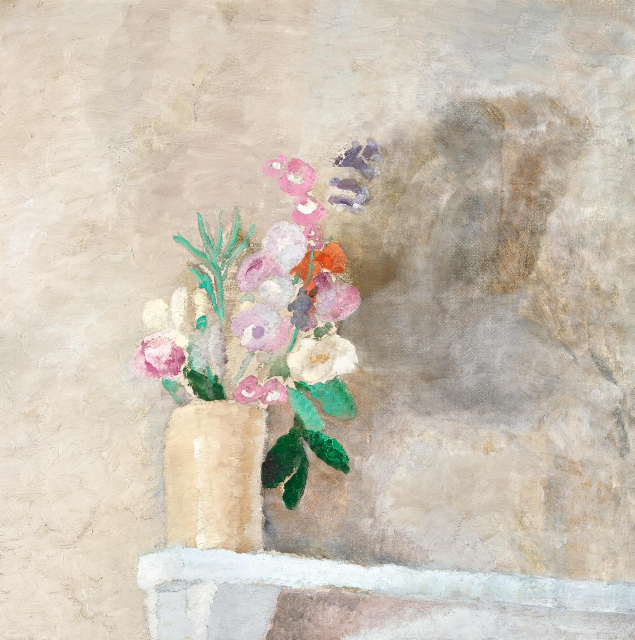 View full screen - View 1 of Lot 80. WINIFRED NICHOLSON | PENSTEMONS.