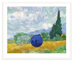 JEFF KOONS | GAZING BALL (VAN GOGH WHEATFIELD WITH CYPRESSES)