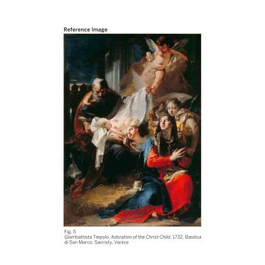 View 6. Thumbnail of Lot 61.  GIOVANNI BATTISTA TIEPOLO |  MADONNA OF THE ROSARY WITH ANGELS.