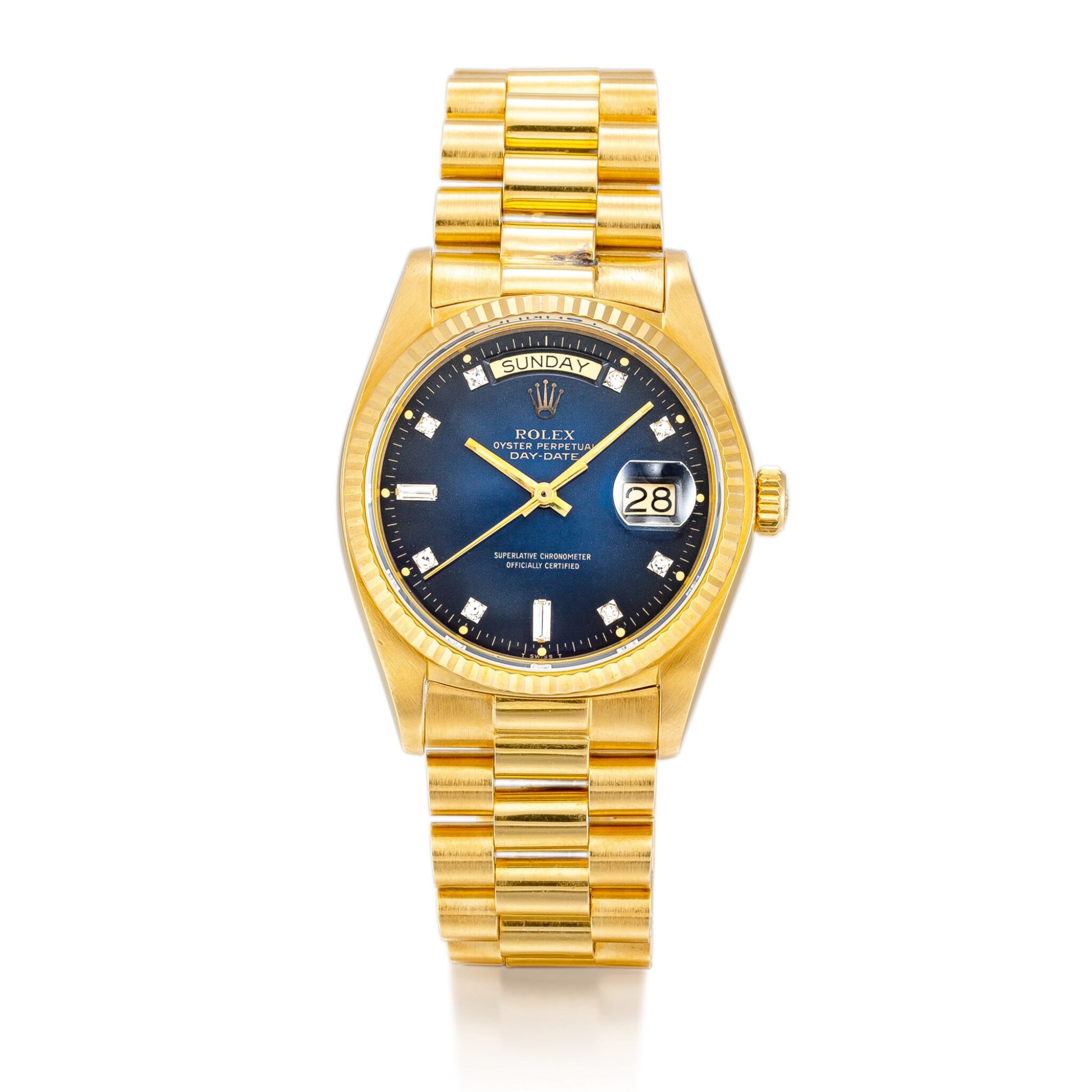 """View full screen - View 1 of Lot 2134. ROLEX 