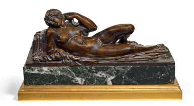 ITALIAN, FLORENCE OR VENETO, SECOND HALF 16TH CENTURY | RECLINING CLEOPATRA