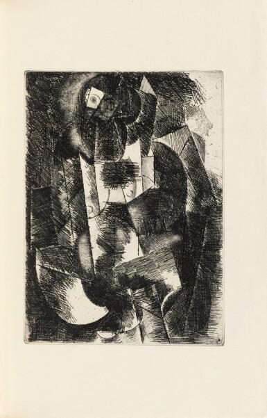 View 1. Thumbnail of Lot 133.  Le Siège de Jérusalem. 1914. Sublime exemplaire sur Japon, dans une reliure de Paul Bonet..