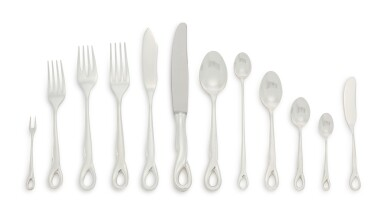 View 2. Thumbnail of Lot 256.  AN AMERICAN SILVER PADOVA PATTERN FLATWARE SERVICE, DESIGNED BY ELSA PERETTI FOR TIFFANY & CO., NEW YORK, LATE 20TH CENTURY.