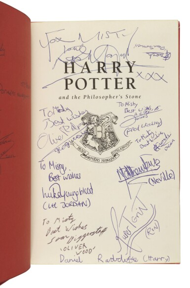 ROWLING, J.K. |  Harry Potter and the Philosopher's Stone. London: Bloomsbury, 1999