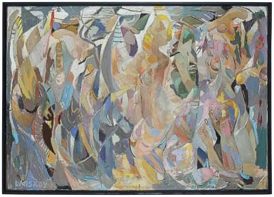 View 2. Thumbnail of Lot 21. Composition, Baigneuses de l'océan glaciale.