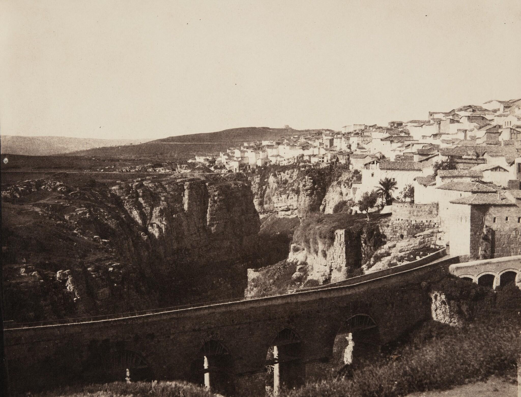 View full screen - View 1 of Lot 53. El-Kantara Bridge, Constantine, Algeria.