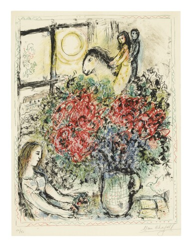 MARC CHAGALL | THE RIDE (M. 620)