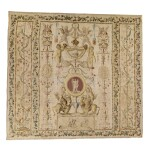 A LOUIS XVI ALLEGORICAL 'GROTESQUE' TAPESTRY, PROBABLY GOBELINS  LAST QUARTER 18TH CENTURY