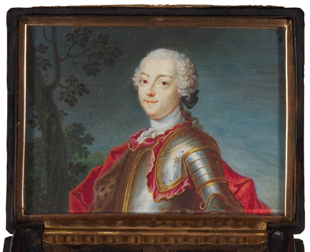 ATTRIBUTED TO JOHN DANIEL KAMM | Portrait of Charles Edward Stuart 'Bonnie Prince Charlie' (1720-1788)