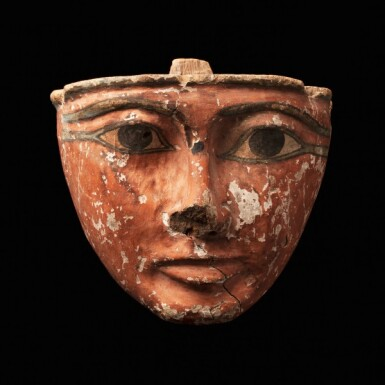 View 1. Thumbnail of Lot 69. Egypt, Third Intermediate Period, 22nd Dynasty, 945-735 B.C. | Funerary Mask.