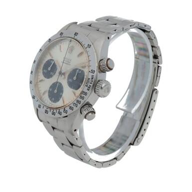 View 2. Thumbnail of Lot 426. 'Sigma Dial' Daytona, Ref. 6265 Stainless steel chronograph wristwatch with bracelet Circa 1973 | 勞力士 6265型號「'Sigma Dial' Daytona」精鋼計時鍊帶腕錶,年份約1973.