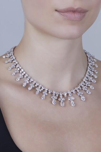 View 2. Thumbnail of Lot 11. Harry Winston [海瑞溫斯頓] | Diamond Necklace [鑽石項鏈].