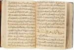 A LARGE ILLUMINATED QUR'AN, COPIED BY MUHAMMAD B. AL-SAYRAFI AL-MU'AZZIN, PROBABLY ANATOLIA, DATED 846 AH/1443 AD