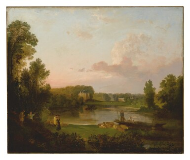 AFTER JOSEPH MALLORD WILLIAM TURNER, R.A. | POPE'S VILLA AT TWICKENHAM