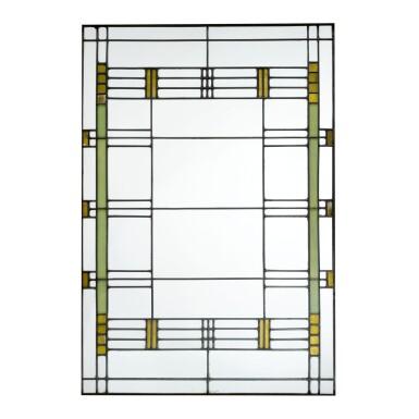 View 1. Thumbnail of Lot 81. FRANK LLOYD WRIGHT   WINDOW FROM THE ARTHUR B. HEURTLEY HOUSE, OAK PARK, ILLINOIS.