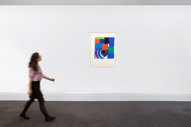 View 3. Thumbnail of Lot 11. SONIA DELAUNAY   RYTHME COULEUR.
