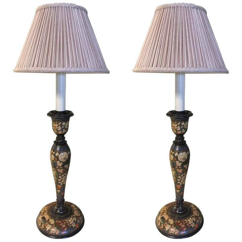 Americana Painted Table Lamps