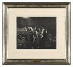 GEORGE BELLOWS | PRELIMINARIES TO THE BIG BOUT (MASON 24)