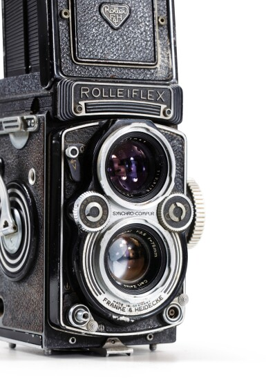 View 3. Thumbnail of Lot 13. Rolleiflex Camera of Paolo Roversi.