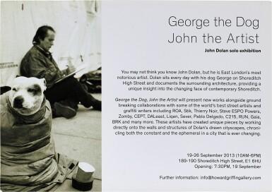 View 2. Thumbnail of Lot 54. George The Dog, John The Artist   犬名佐治,藝術家約翰.