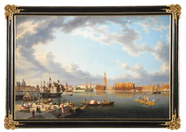 View 2. Thumbnail of Lot 73. Venice, From San Giorgio Maggiore.