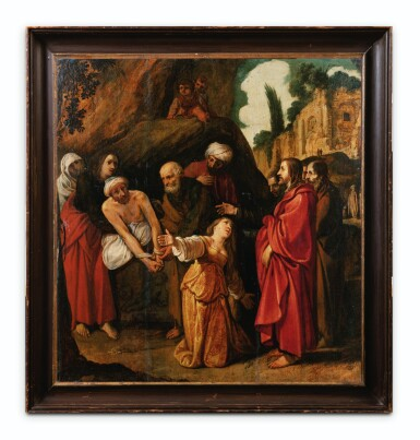 View 2. Thumbnail of Lot 23. The Raising of Lazarus.