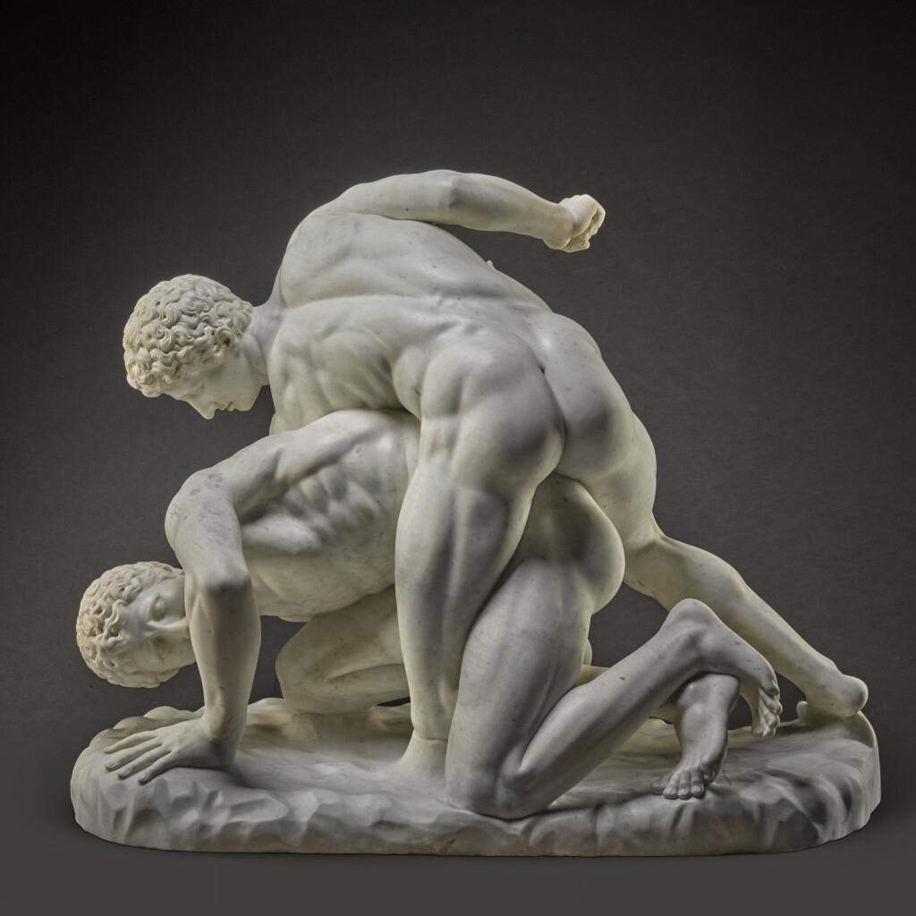 ITALIAN, 19TH CENTURY, AFTER THE ANTIQUE | THE WRESTLERS
