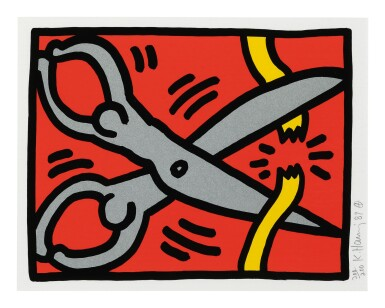 KEITH HARING | POP SHOP III: ONE PLATE (LITTMANN P. 144)
