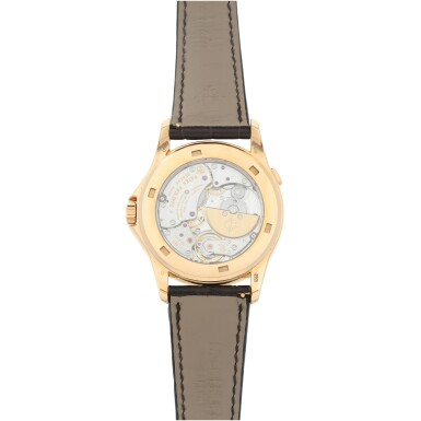 View 5. Thumbnail of Lot 59. REFERENCE 5131R-011 A FINE PINK GOLD AUTOMATIC WORLD TIME WRISTWATCH WITH CLOISONNE ENAMEL DIAL, CIRCA 2017.