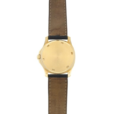 View 5. Thumbnail of Lot 20. REFERENCE 5060 AQUANAUT A YELLOW GOLD AUTOMATIC WRISTWATCH WITH DATE, MADE IN 1996.