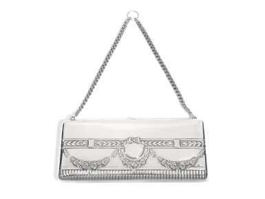 View 1. Thumbnail of Lot 218. A silver evening bag, Ivan Khlebnikov, Moscow, 1908-1917.