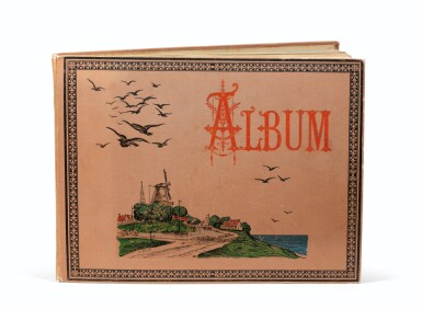 View 4. Thumbnail of Lot 89. ALGUIER. Ile des Pins (Nouvelle Calédonie). Album in-4 (couv. illustrée), 37 pl. in-4 et 2 pl. in-12..