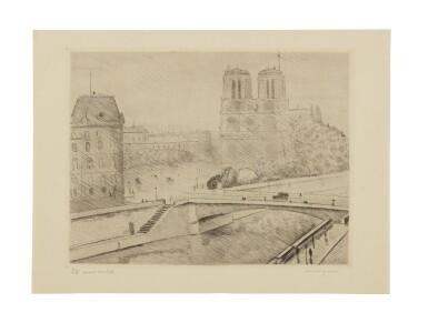 View 5. Thumbnail of Lot 109. Bords de la Seine.