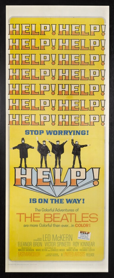 HELP! (1965) POSTER, US