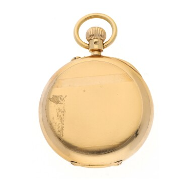 View 5. Thumbnail of Lot 44. CHARLES FRODSHAM | A PINK GOLD HUNTING CASED WATCH CIRCA 1916.