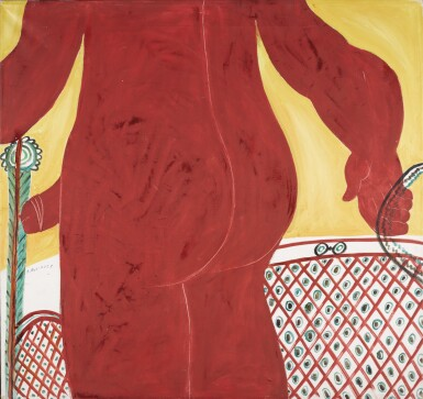 View 1. Thumbnail of Lot 34. ALECOS FASSIANOS   RED NUDE.