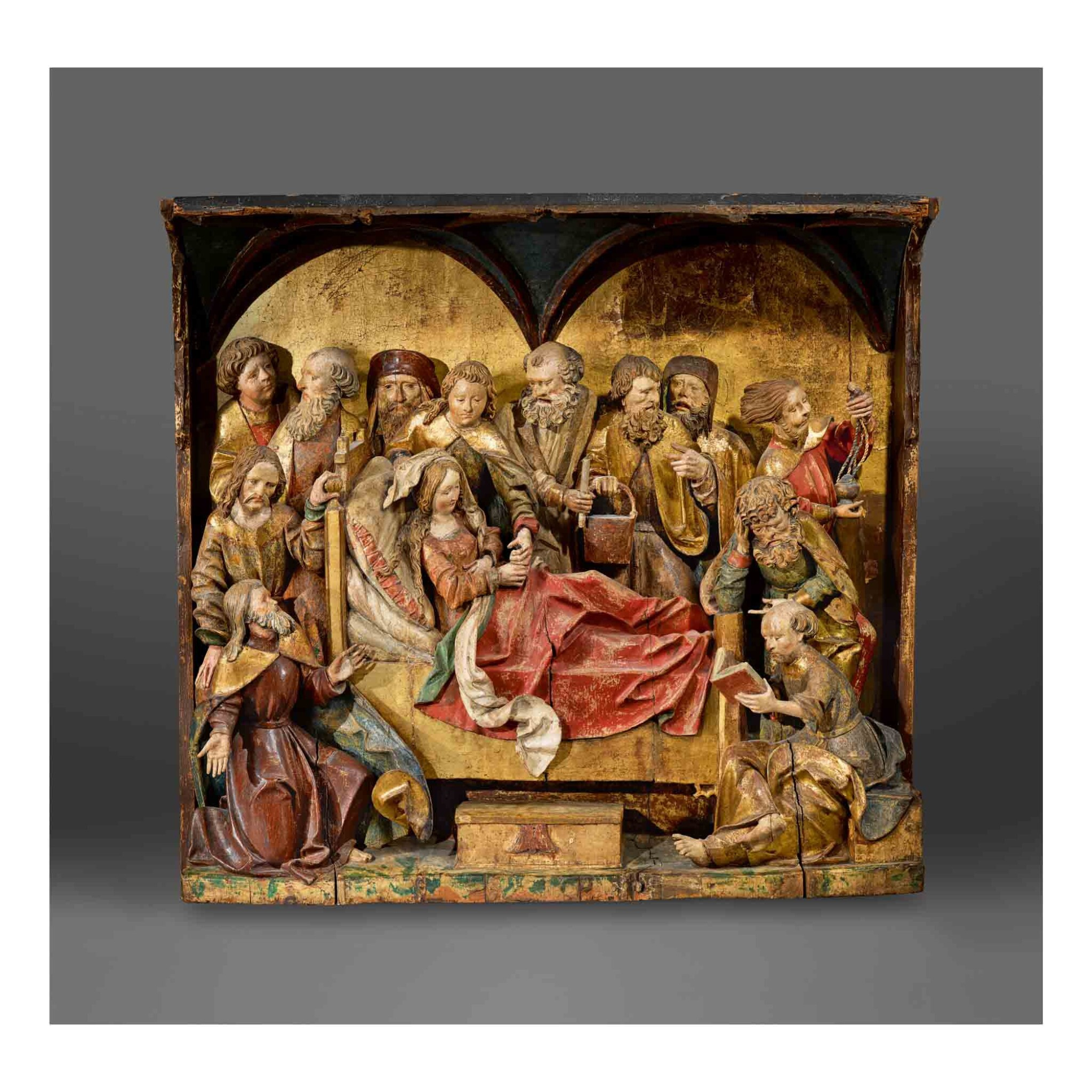 View full screen - View 1 of Lot 128. The Dormition of the Virgin.