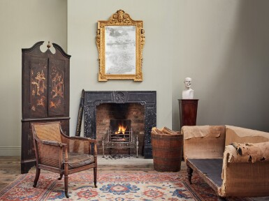 View 5. Thumbnail of Lot 55. A GEORGE III MAHOGANY SIDE CHAIR, CIRCA 1760.
