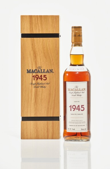 View 1. Thumbnail of Lot 11. The Macallan Fine & Rare 56 Year Old 51.6 abv 1945 (1 BT70cl).