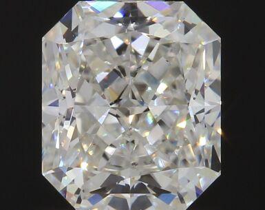 A 1.03 Carat Cut-Cornered Rectangular Diamond, I Color, VS2 Clarity