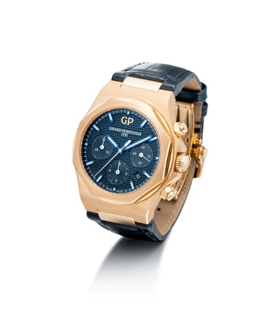 View 2. Thumbnail of Lot 103. GIRARD-PERREGAUX   LAUREATO, REFERENCE 81020, A PINK GOLD CHRONOGRAPH WRISTWATCH WITH DATE, CIRCA 2018.