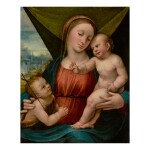 Sold Without Reserve   BARTOLOMEO RAMENGHI, CALLED BAGNACAVALLO   MADONNA AND CHILD WITH THE INFANT SAINT JOHN THE BAPTIST