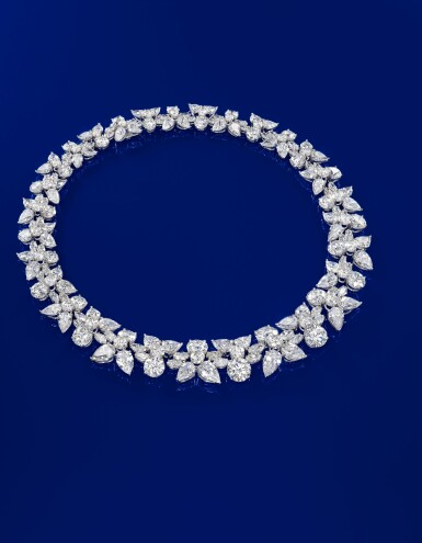 View 2. Thumbnail of Lot 1754. HARRY WINSTON   'HOLLY WREATH' DIAMOND NECKLACE   海瑞溫斯頓   'Holly Wreath' 鑽石項鏈 (鑽石共重約125.00卡拉).